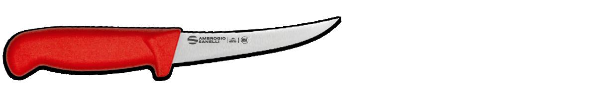 Coltello disosso curvo rigido