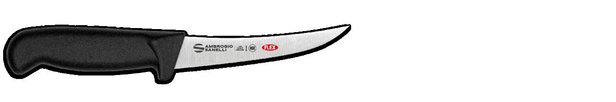 Coltello disosso curvo flessibile